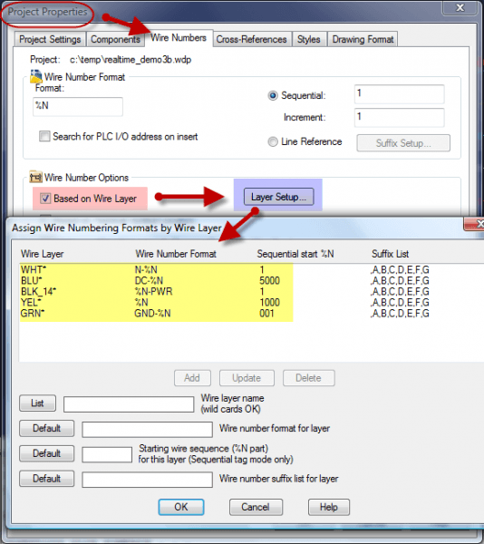 """Wire Number Tagging Based Upon """"wire Type"""" – Autocad Electrical"""