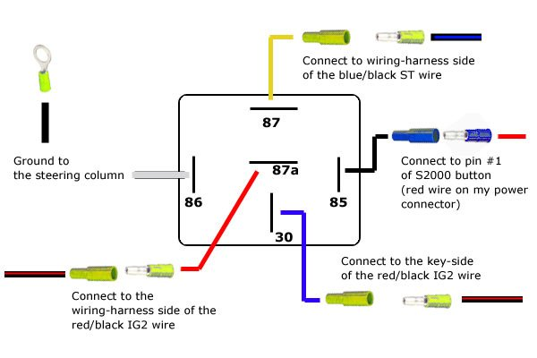 Wiring A 5 Wire Relay – Wiring Diagram