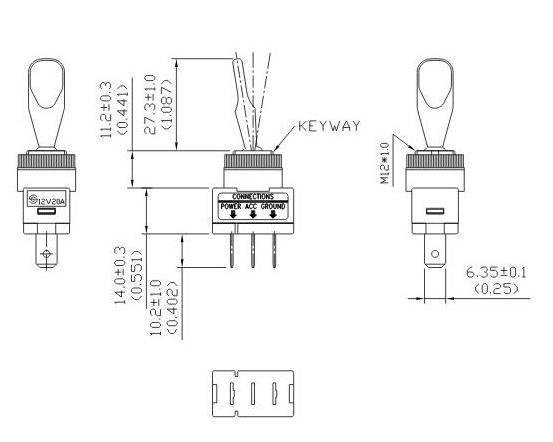 Wiring A Lighted Toggle Switch Diagram