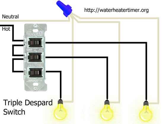 Wiring A Triple Light Switch