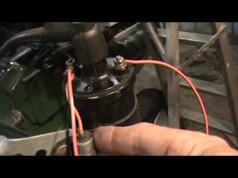 Wiring An External Battery Coil To Your Engine