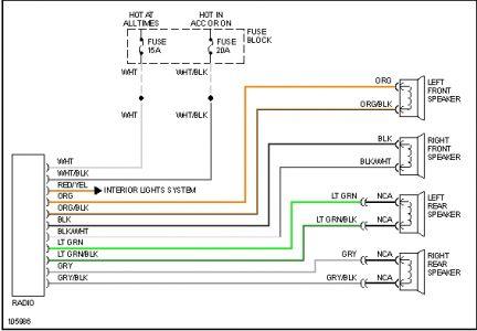 Wiring Diagram For Pontiac G6