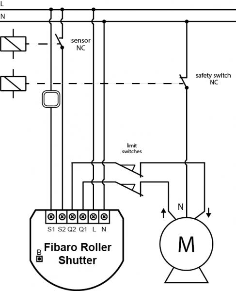 Wiring Diagram For Roller Shutter Door Switch