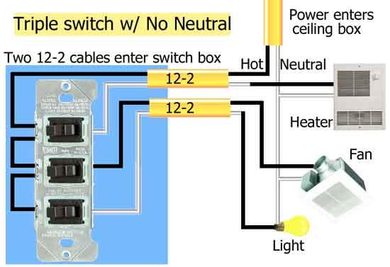 Wiring Diagram Triple Switch
