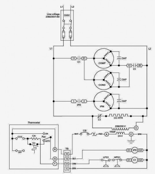 Wiring Diagrams For Hvac
