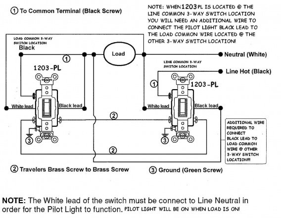 Legrand 4 Way Switch Diagram