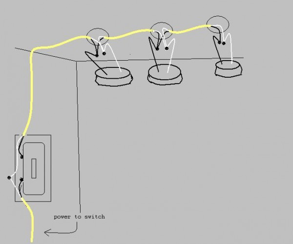 Wiring One Switch With Multiple Lights