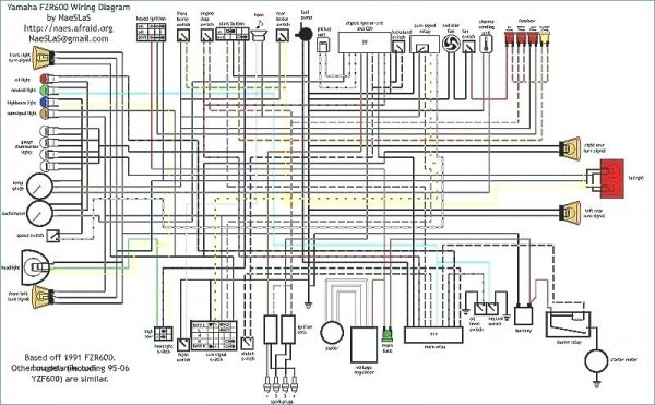 Yamaha Yzf600 Wiring Diagram Wiring Diagram Fix Fix Lechicchedimammavale It