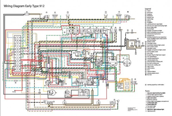 1976 Porsche Wiring Diagram
