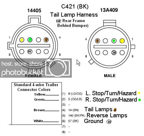 1994 ford f150 tail light wiring diagram