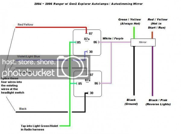 1997 Ford Ranger Fog Light Wiring Diagram
