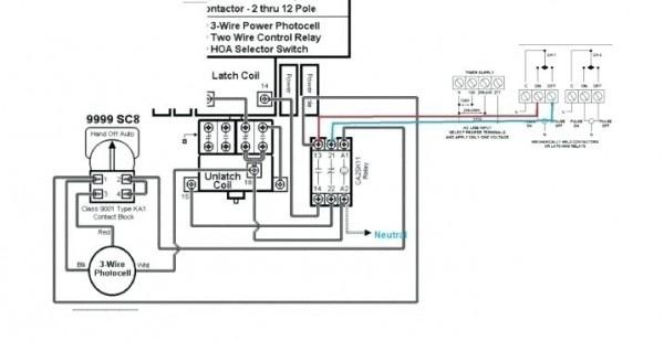 4 Pole Contactor Wiring Diagram
