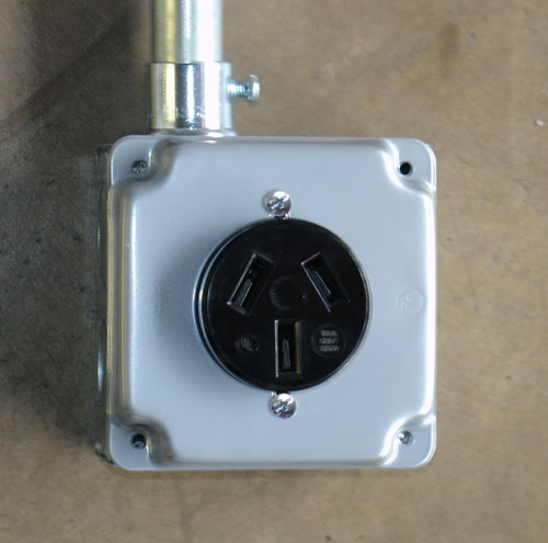30 Amp Outlet Box