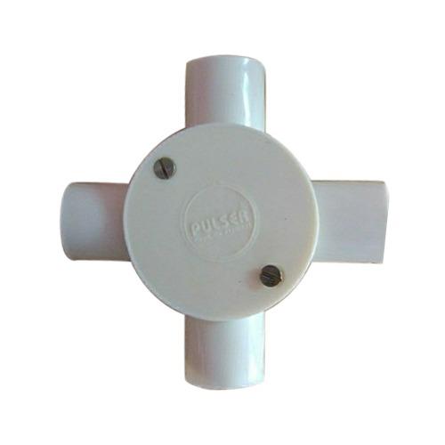 4 Way Pvc Junction Box, Electrical Pvc Junction Box, Polyvinyl