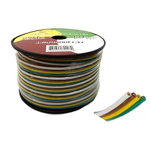 4 Wire Trailer Wiring  Amazon Com