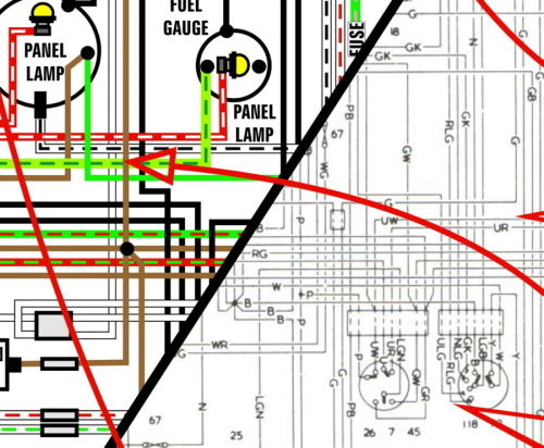Austin Healey 3000 Wiring Diagram