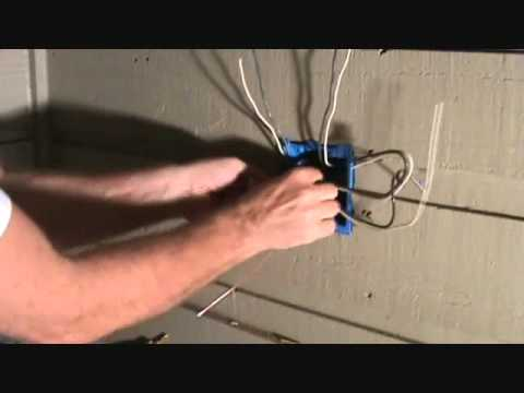 Connecting 2 Electrical Outlets Arranging The Ground Wires