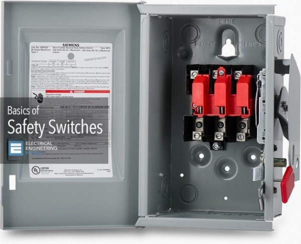 Fuse Box Safety Switch