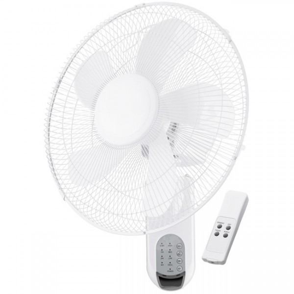 Heller Hwal40r 40cm Wall Fan With Remote Heller