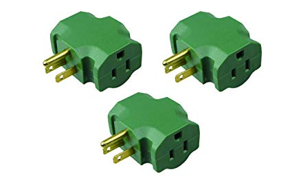 Homehopes 3 Outlet Plug Adapter, 3 Way Electrical Outlet Adapter