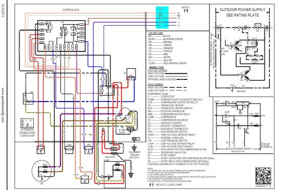 Amana Heat Pump Wiring Diagram
