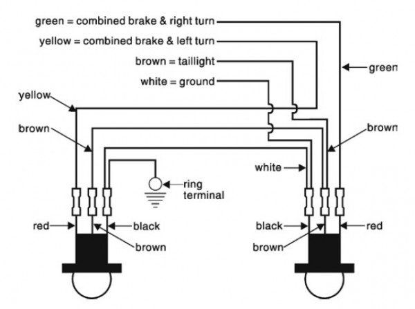 Roadmaster Tail Light Wiring Kit With Bulbs Roadmaster Tow Bar