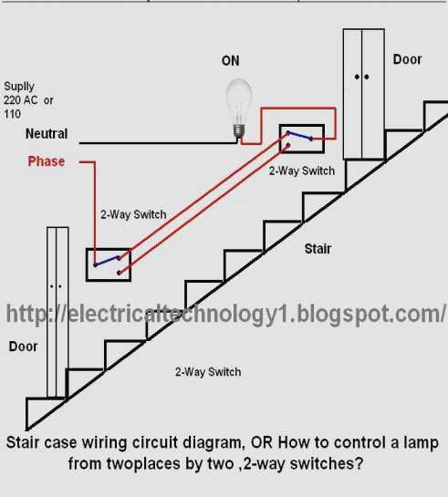 Stair Light Switch Wiring Diagram
