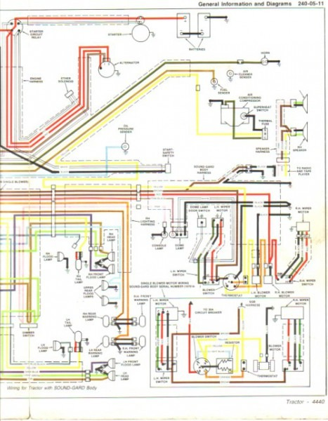 Viewing A Thread 4440 Wiring Diagram Online For John Deere On John