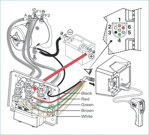 Warn M12000 Wiring Diagram