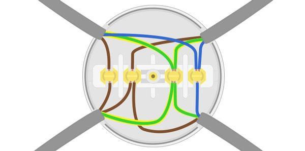 Way Junction Box Wiring 4 Way Junction Box Wiring 4 Way Junction