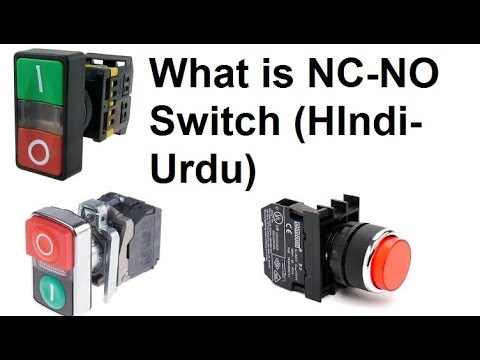What Is No And Nc Switch  Normally Open