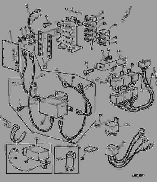Wiring Diagram For John Deere 4440